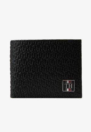 MONOGRAM MINI WALLET - Monedero - black