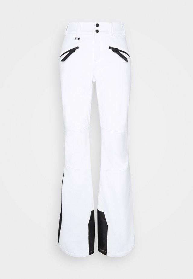 SLALOM SLIM PANT - Zimní kalhoty - white