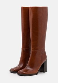 Jeffrey Campbell - ZELDOA - High heeled boots - tan - 2
