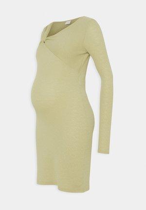 MLVIOLA DRESS - Žerzejové šaty - aloe