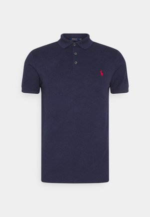 SLIM FIT MODEL - Polo - spring navy heather