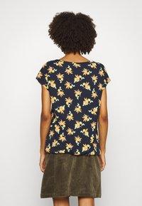 Esprit - TEE - T-shirts med print - navy - 2
