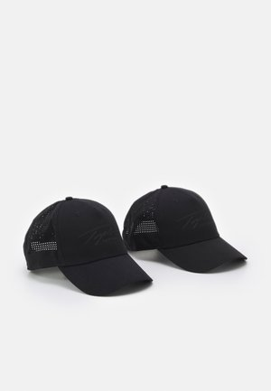 2 PACK - Cap - black