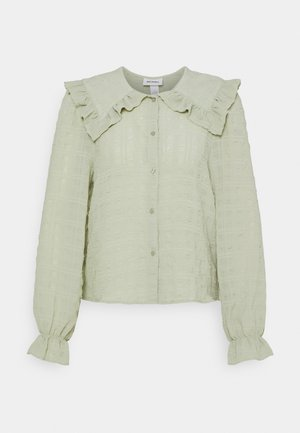 NAIMA BLOUSE - Overhemdblouse - green dusty light