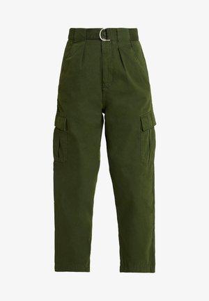 VALERIA UTILITY - Trousers - khaki