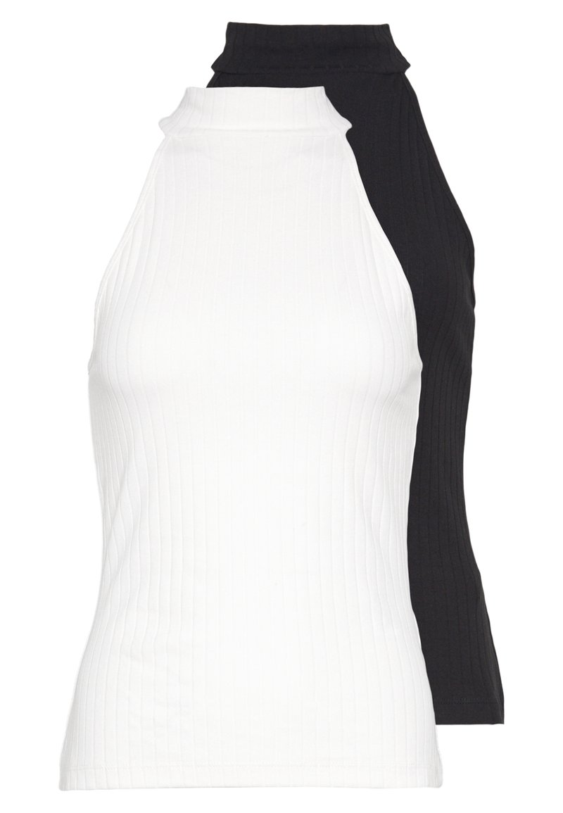 Even&Odd Tall - 2 PACK - Top - off-white/black