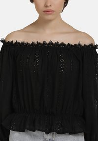 myMo - BLUSE - Blouse - black - 3