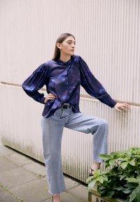 PS Paul Smith - SHIRT - Button-down blouse - dark blue - 2