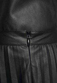 DESIGNERS REMIX - MARIE PLEATED SKIRT - Jupe plissée - black - 4