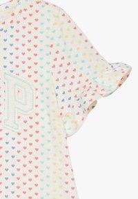 GAP - T-shirt print - ivory frost - 2