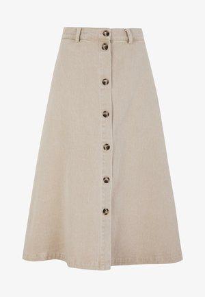 SANBINA - A-snit nederdel/ A-formede nederdele - warm sand