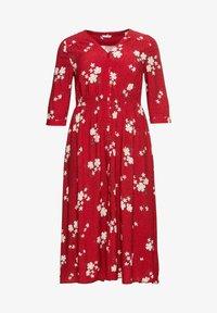 Sheego - Maxi dress - rot bedruckt - 4