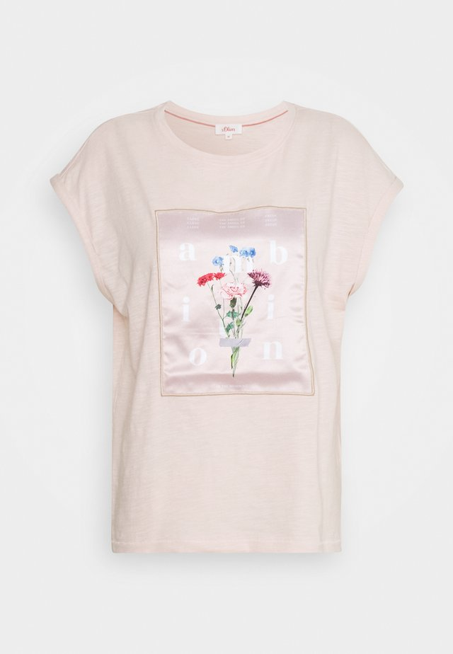 T-shirts print - light blush