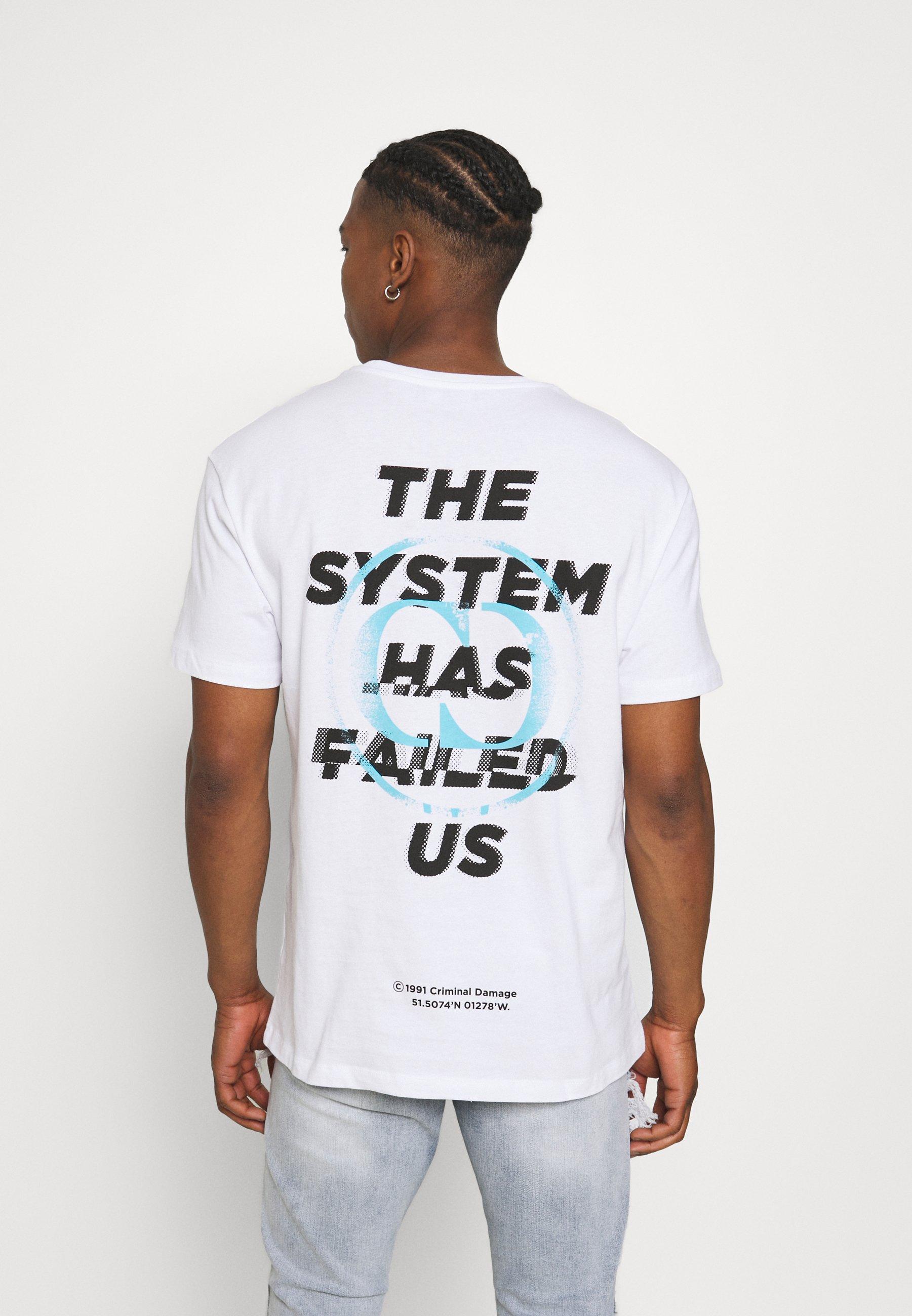 Men SYSTEM TEE - Print T-shirt