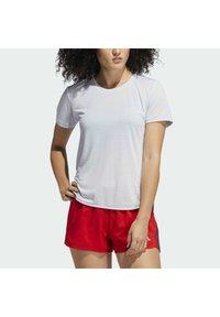adidas Performance - GO TO TEE  - T-shirt basique - white - 3