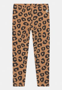 Lindex - LEO 2 PACK UNISEX - Leggings - Trousers - dark beige