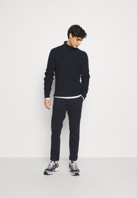 camel active - Modern - Trousers - navy - 1