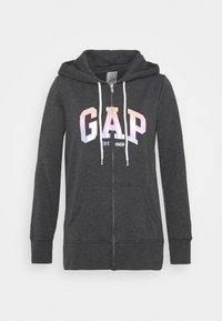 GAP - SHINE - Zip-up sweatshirt - charcoal heather - 0