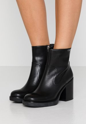 FAYIZ - High heeled ankle boots - black