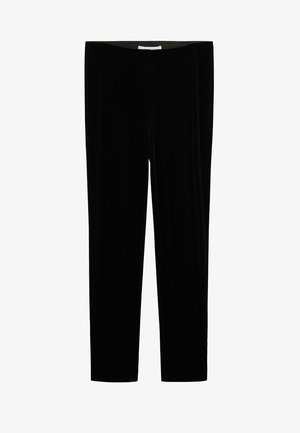 VELVETI - Leggings - Trousers - schwarz