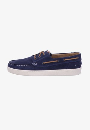 Boat shoes - blau