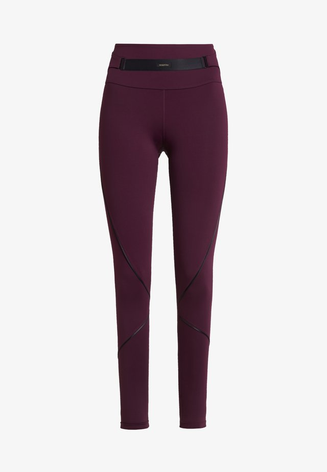 Legging - dark red
