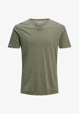 Basic T-shirt - dusky green