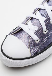 Converse - CHUCK TAYLOR ALL STAR GLITTER - Trainers - thunder/white/black - 5