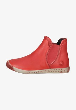 Ankle boots - scarlet