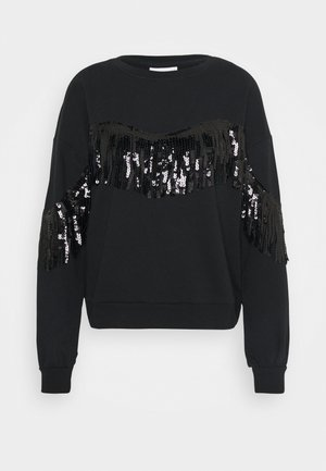 ONLASSY LIFE O NECK - Sweatshirt - black