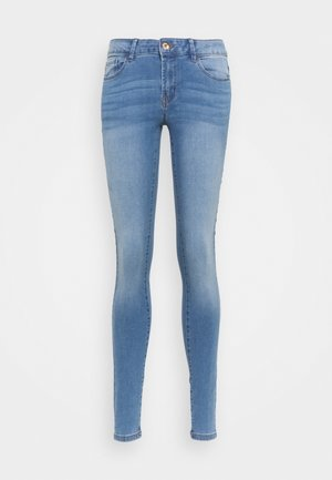 JDYOLGA LIFE SKINNY - Jeans Skinny Fit - medium blue denim