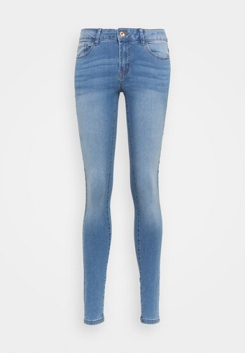 JDYOLGA LIFE SKINNY - Jeans Skinny - medium blue denim
