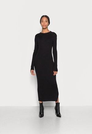 DRESS - Neulemekko - black