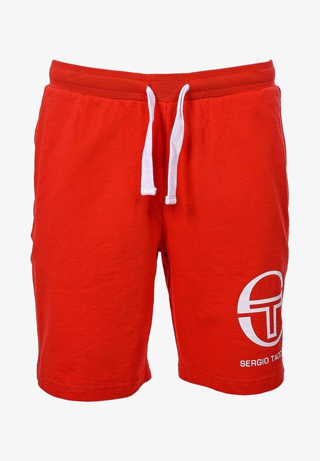 SWEATSHORTS 020 SHORTS - Pantalon de survêtement - vinred/wht