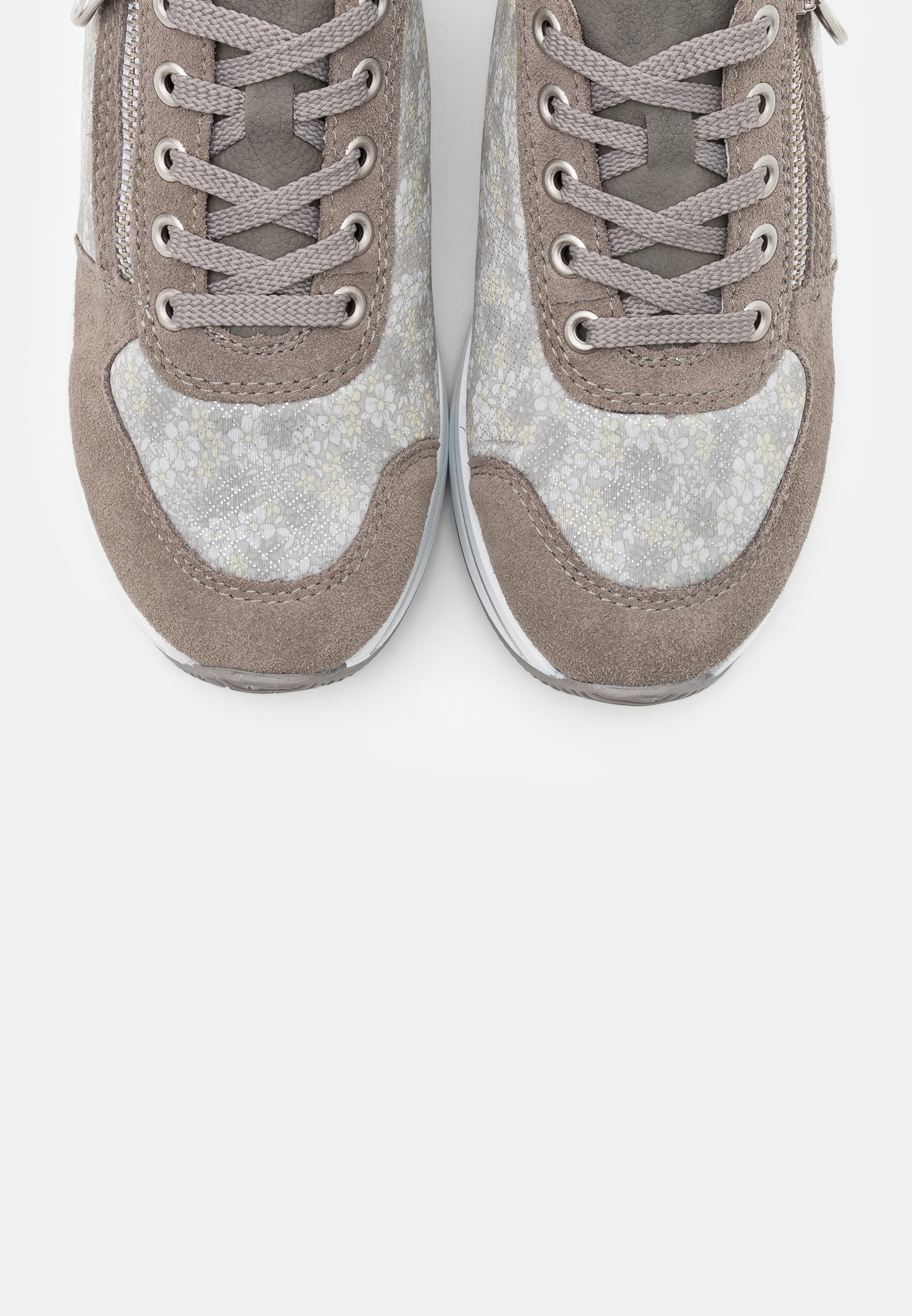 Rieker Joggesko dust silvercement Zalando.no