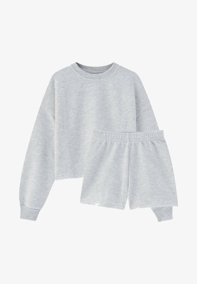 SET - Tepláková souprava - grey