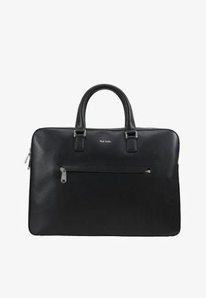 BAG SLIM FOLIO EMBOSS - Briefcase - black