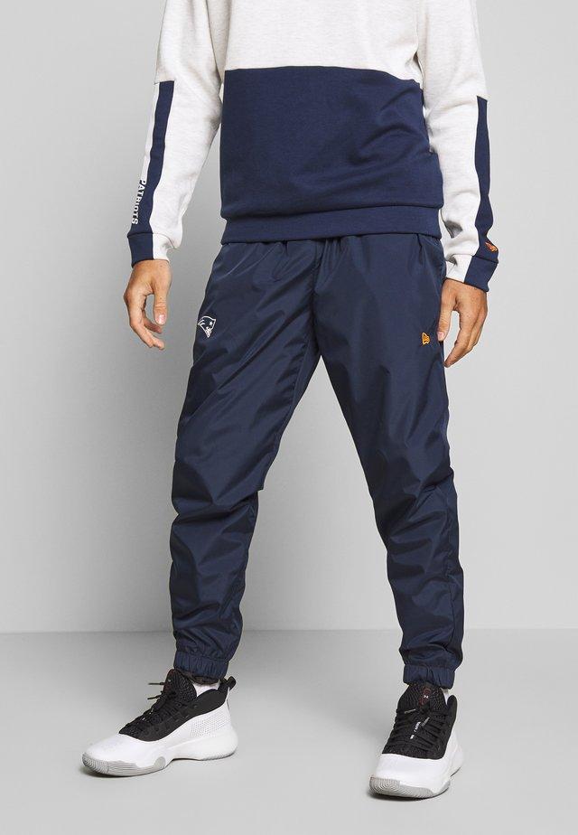 NFL TRACK PANT NEW ENGLAND PATRIOTS - Club wear - dark blue
