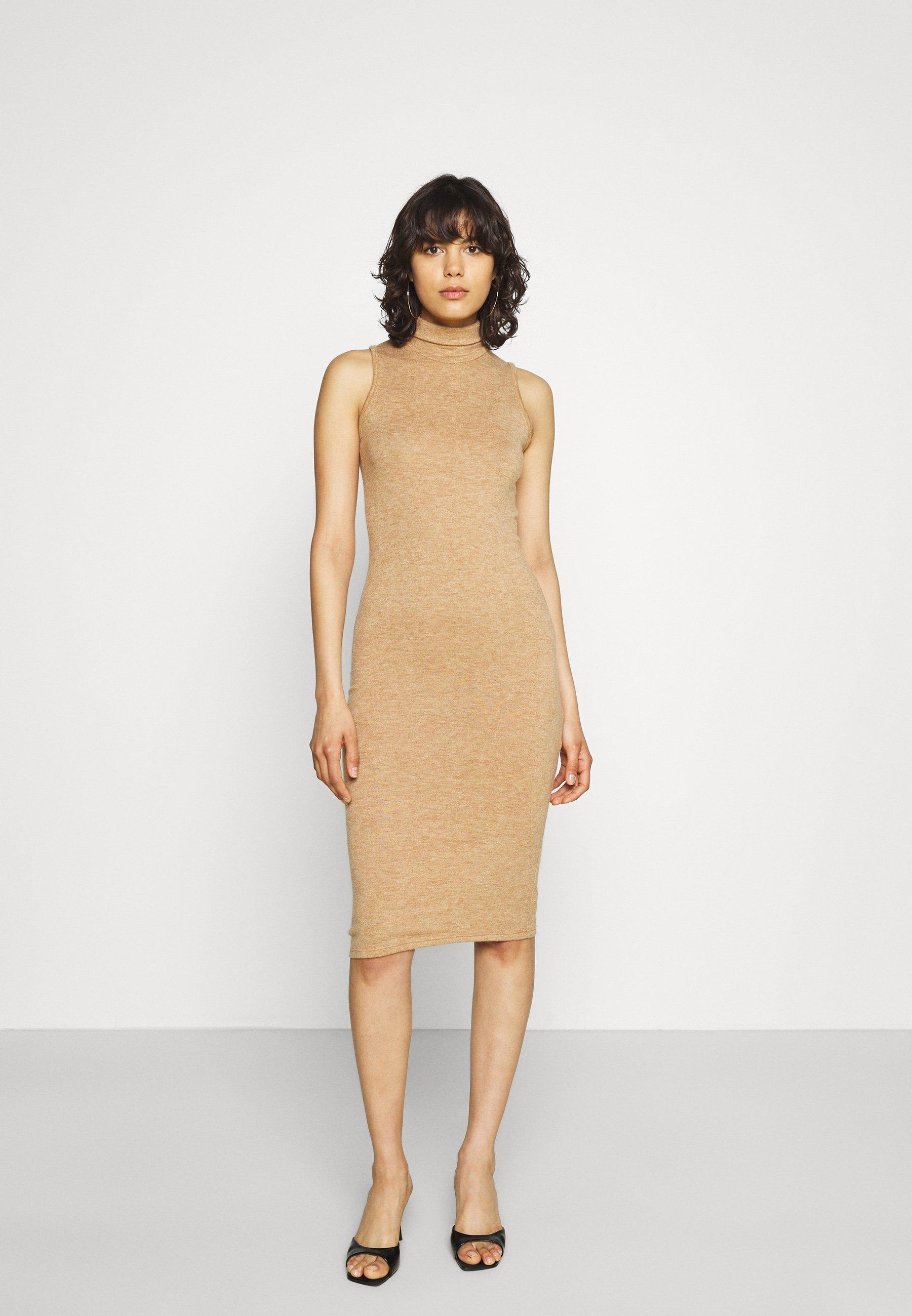 Mujer EMERY HIGH NECK BODYCON - Vestido de punto