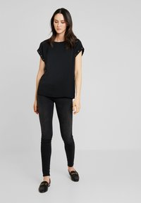 s.Oliver - Basic T-shirt - black - 1