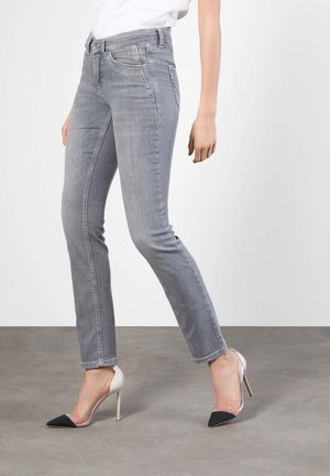 ANGELA - Slim fit jeans - grey