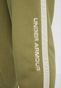 Under Armour - POLAR PANT - Friluftsbukser - outpost green/elite beige/beta red - 5