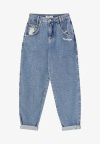 PULL&BEAR - SLOUCHY - Jeans straight leg - blue - 6