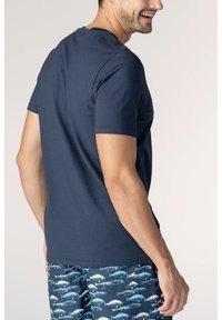 mey - Basic T-shirt - yacht blue - 1