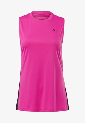 WORKOUT READY MESH TANK TOP - Top - pink