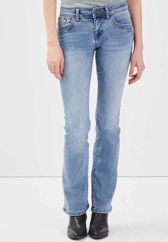 INSTINCT - Jeans bootcut - blue denim