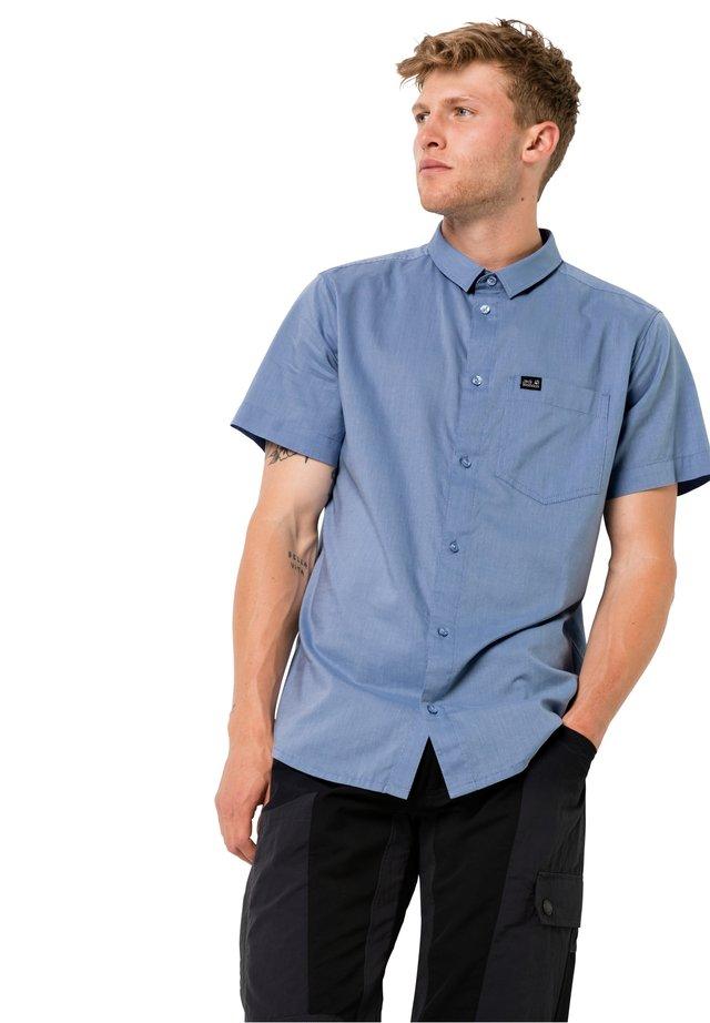 NATA RIVER - Shirt - dusk blue stripes