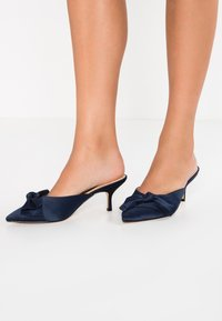 Nina Shoes - TIMARA - Pantolette hoch - new navy - 0
