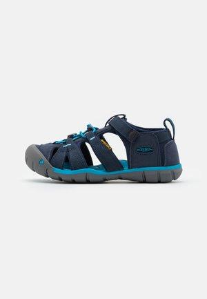 SEACAMP II CNX UNISEX - Walking sandals - black iris/vivid blue
