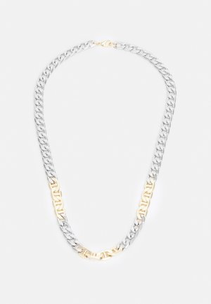 MIXED CHAIN NECKLACE - Necklace - silver-coloured/gold-coloured